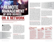 Remote Management of RFID devices on a network