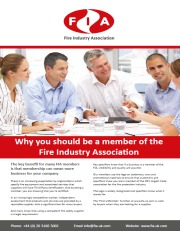 Why you should be a member of the Fire Industry Association