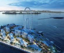 Maxxess eFusion plays central site management role  at Dubai's landmark Bluewaters Island