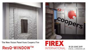 Coopers Fire launch new ResQ-Window at Firex 2019