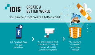 IDIS HIGHLIGHTS HOW SURVEILLANCE CAPTURES HUMAN KINDNESS WITH ITS 'CREATE A BETTER WORLD' CAMPAIGN