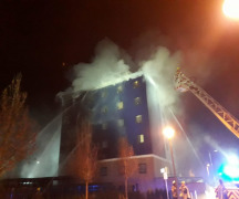 Guests thought fire alarm was a 'prank' as flames engulfed Brentford Travelodge