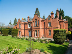 Stately Home Secured with Advanced Protection