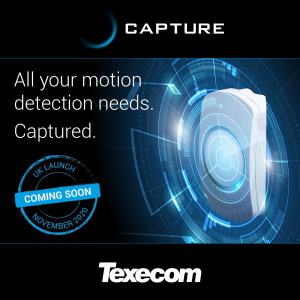 Texecom unveils new Capture motion detectors