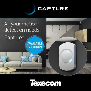 Capture Grade 2 security motion detectors available across Europe