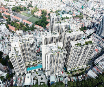 Axis EN Installation Protects Ho Chi Minh City's Latest Upscale Apartment Complex