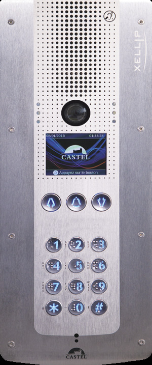 CAP IP, audio video IP/SIP intercom stations