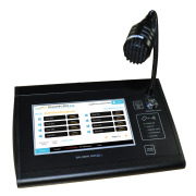 Touchscreen microphone