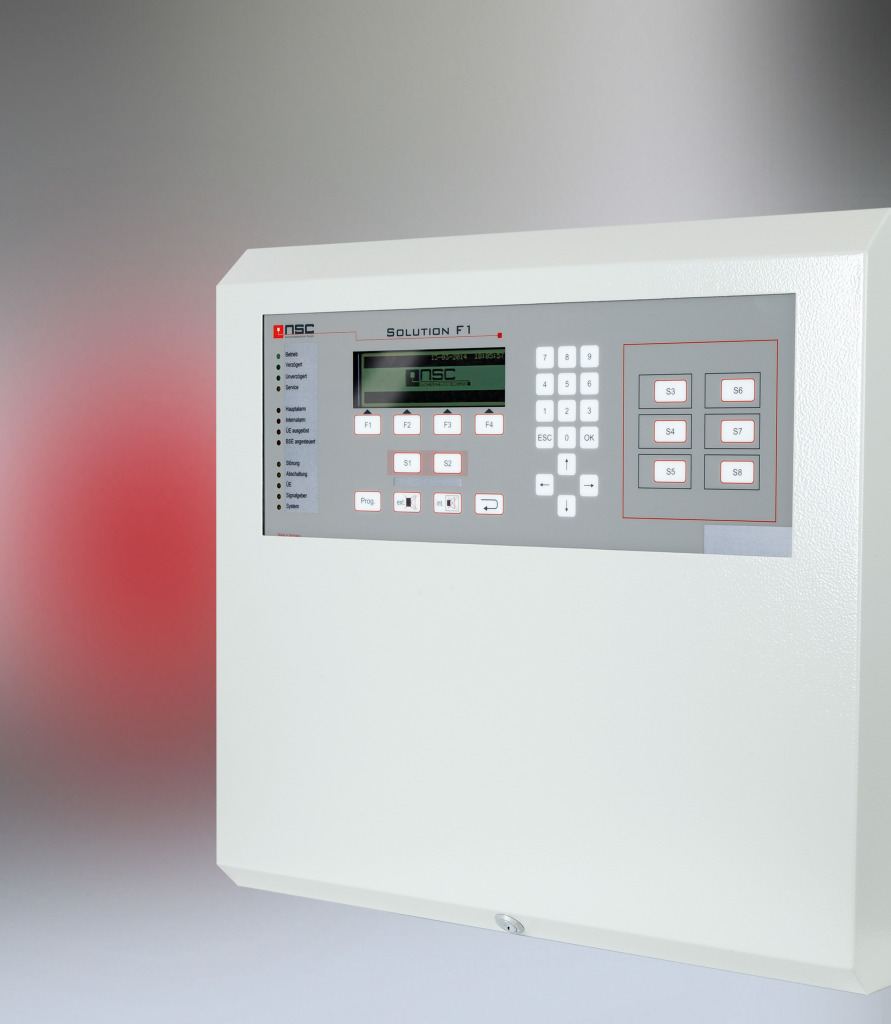 The Fire Alarm Control Panel Solution F1 | NSC Sicherheitstechnik ...