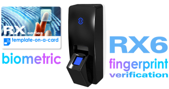 RX6 - advanced access control reader