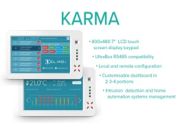 KARMA touch screen display