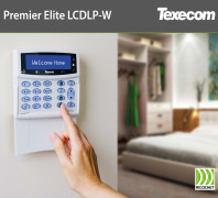 Premier Elite LCDLP-W wireless LCD keypad