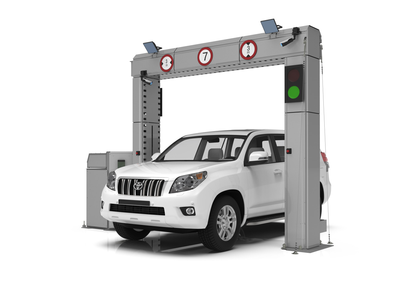 VEHICLE X-RAY INSPECTION SYSTEM DTP 200LV   ADANI Ltd   IFSEC Global  Directory