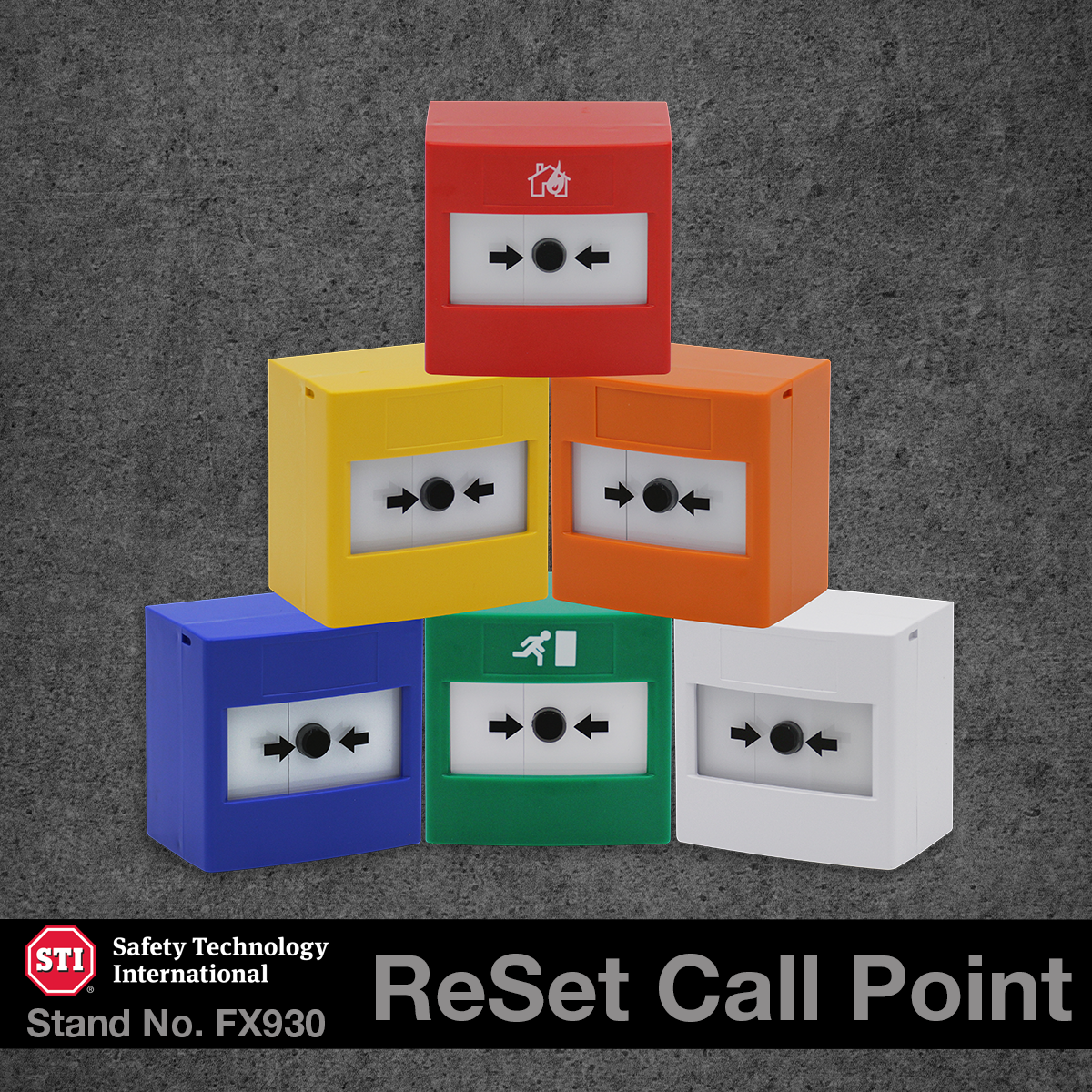 STI ReSet Call point