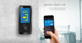 CRYSTAL TOUCH IP ACCESS CONTROL TERMINAL