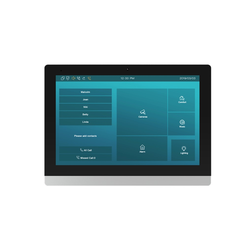 Akuvox C317 Android Indoor Monitor for Smart Home Solution | Akuvox