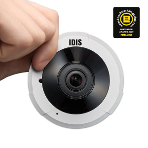 VIDEO: IDIS 5MP IR Super Fisheye Compact (DC-Y6513RX)