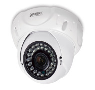 ICA-4460V -- H.265 4MP PoE Dome IR IP Camera with Vari-focal Lens