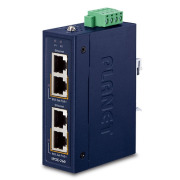 IPOE-260 Series -- Industrial 2-port 10/100/1000T 802.3at PoE+ Injector Hub