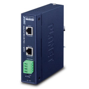 IPOE-173S -- Industrial Single-Port 10/100/1000Mbps 802.3bt PoE++ Splitter
