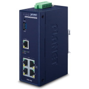 IVR-100 -- Industrial 5-Port 10/100/1000T VPN Security Gateway