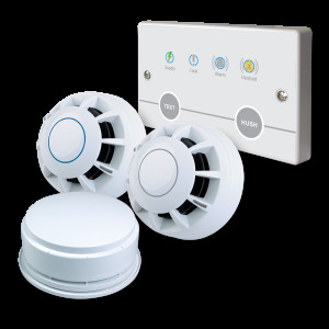 Hush Pro BS 5839-6 Grade C domestic fire alarm systems
