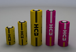 Li-MnO2CYLINDRICAL BATTERY