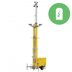 WCCTV HD Fuel Cell Site Tower