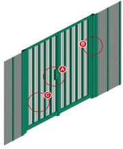 Lockmaster SR2 Swing Gate