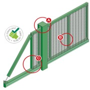 Slidemaster SR1 Cantilever Sliding Gate