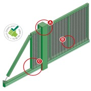 SlideMaster SR2 Cantilever Sliding Gate