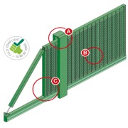Slidemaster SR3 Cantilever Sliding Gate