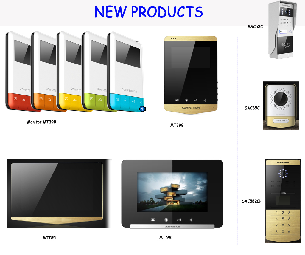 New Products For Door Entry System Competition Electronic Zhuhai