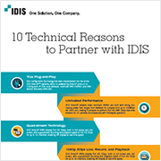 20 Good Reasons to Partner with IDIS