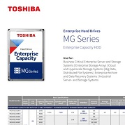Datasheet MG-Series Enterprise Capacity HDD for Surveillance