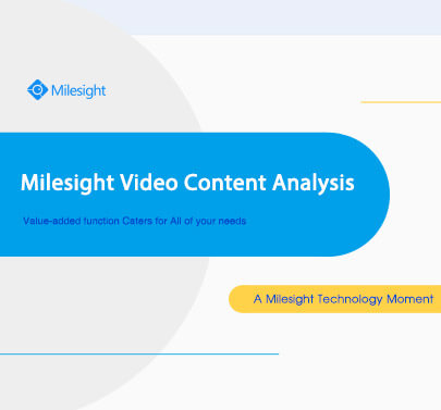 A Milesight Technology Moment_Video Content Analysis
