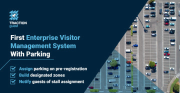 Introducing the first integrated parking management module for visitor management