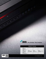 IDIS Total Solution Catalogue