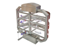 AKT-1250 Series Half Height Turnstiles