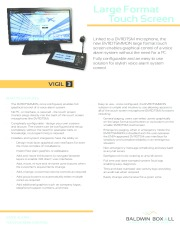 Large Touch Screen Format Voice Alarm Control
