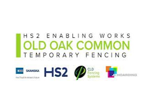 HS2 Temporary Security Fencing