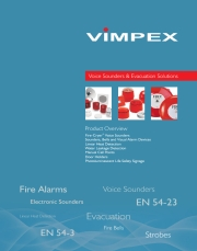 Vimpex Voice Sounders & Evacuation Solutions - Product Overview
