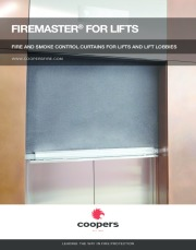 FireMaster Fire Curtain for Lifts Brochure