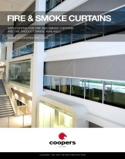 Coopers Fire Smoke and Fire Curtains Brochure