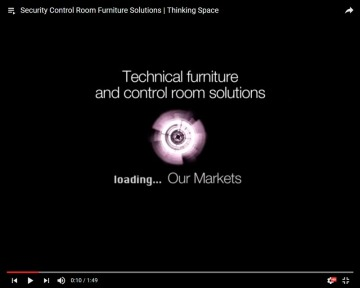 Security sector control room solutions | Thinking Space Systems